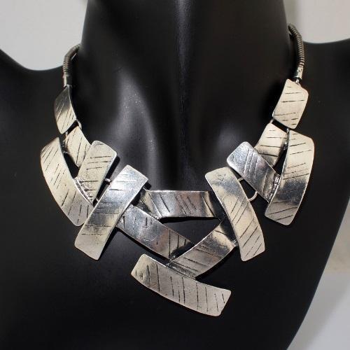 Ogrlica Luisa srebrna