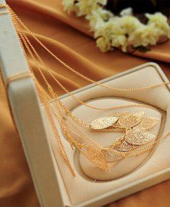OGRLICA LEAF GOLD CHIC